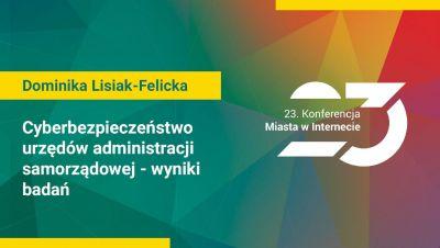 Dominika Lisiak-Felicka, Katedra Informatyki Ekonomicznej Uniwersytet Łódzki