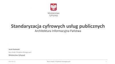Jacek Paziewski, dyrektor Biura Analiz i Projektów Strategicznych Ministerstwa Cyfryzacji