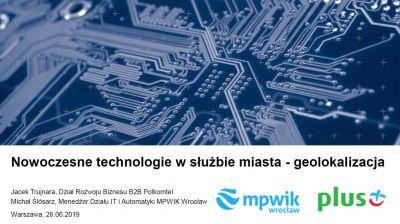 Jacek Trujnara, Polkomtel  Sp. z o.o., Michał Ślósarz, Miejskie Przedsiębiorstwo Wodociągów i Kanalizacji we Wrocławiu