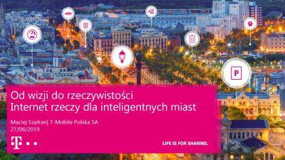 Maciej Szafran, T-Mobile Polska SA