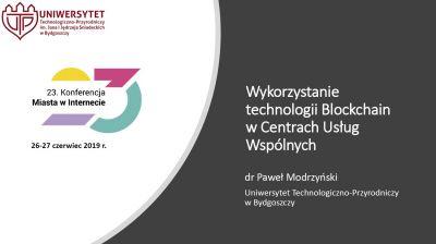 Paweł Modrzyński, kierownik Pracowni Rachunkowości i Finansów Wydziału Zarządzania UTP  w Bydgoszczy